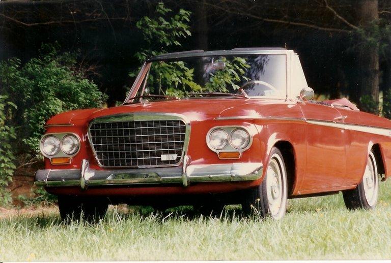 1963 - Studebaker, Super Lark Daytona (Convertable)