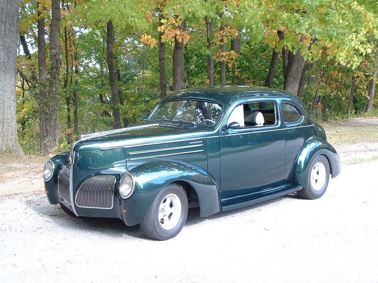 1939 - Studebaker, 2DR Club sedan Commander