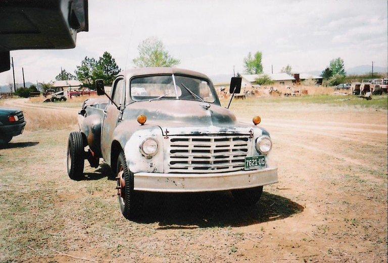 1949 - Studebaker, 2R-15 One Ton Pick-up