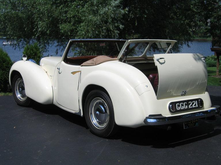 1949 - Triumph, 2000 Roadster