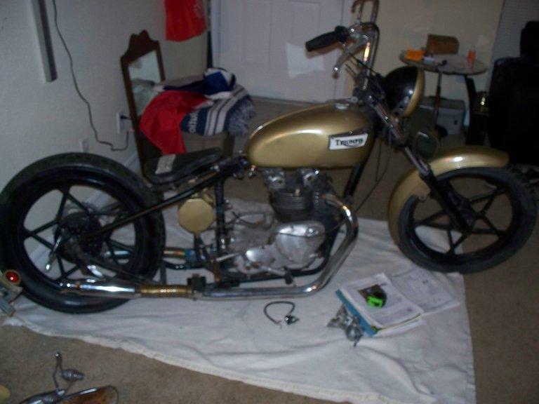 1968 - Triumph, 1968 T100C