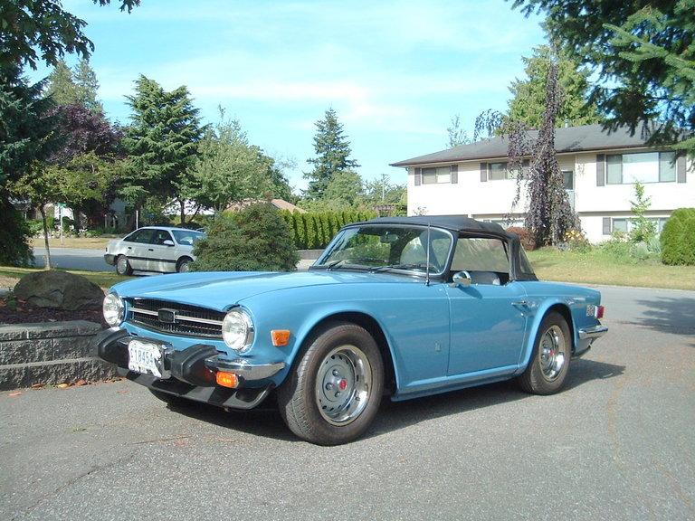 1975 - Triumph, Tr-6