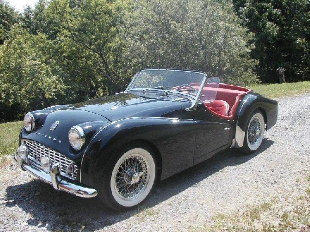 1957 - Triumph, TR3A
