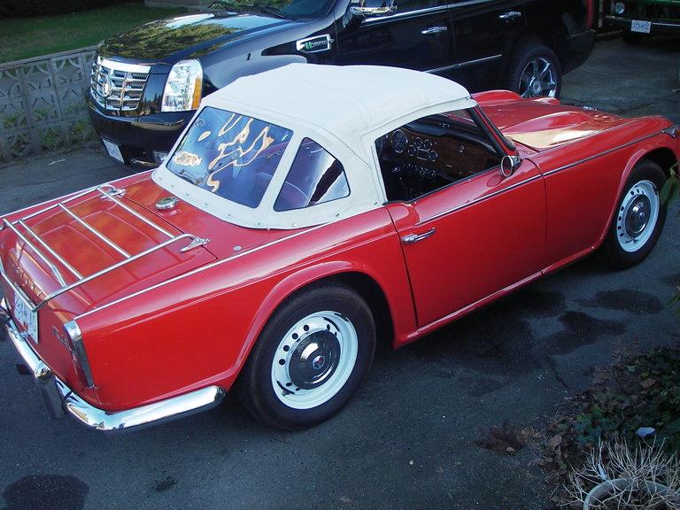 1966 - Triumph, TR4A