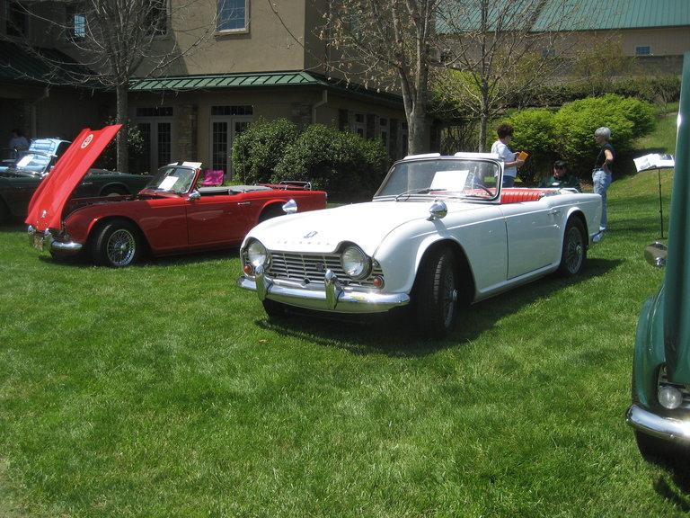 1963 - Triumph, TR4