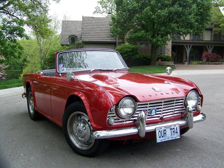 1962 - Triumph, tr4