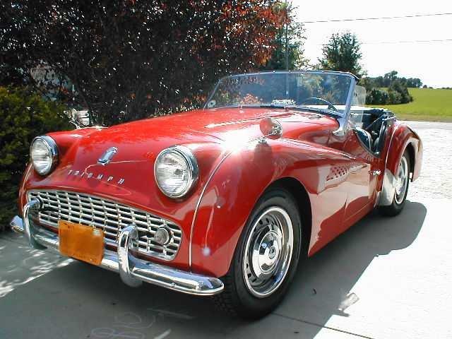 1958 - Triumph, TR3