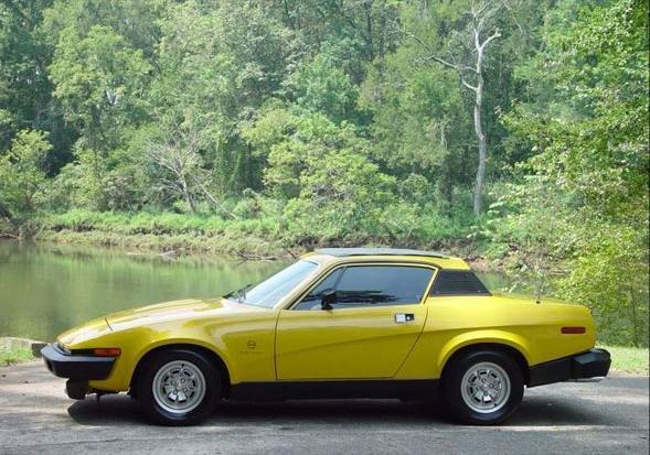 1978 - Triumph, TR8 Prototype - 3rd TR8 ever made