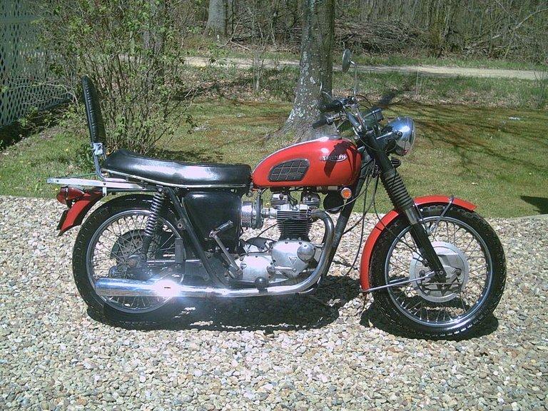 1969 - Triumph, Trophy TR6R
