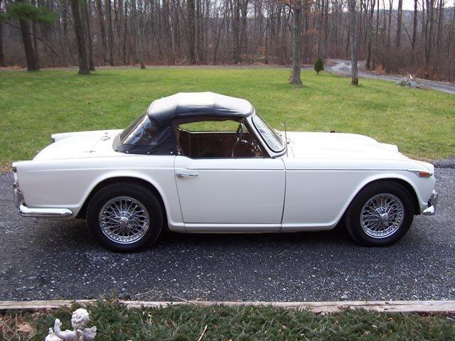 1966 - Triumph, TR4A-IRS