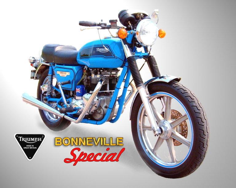 1979 - Triumph, Bonneville Special