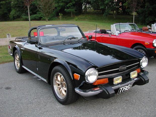 1974 - Triumph, TR6
