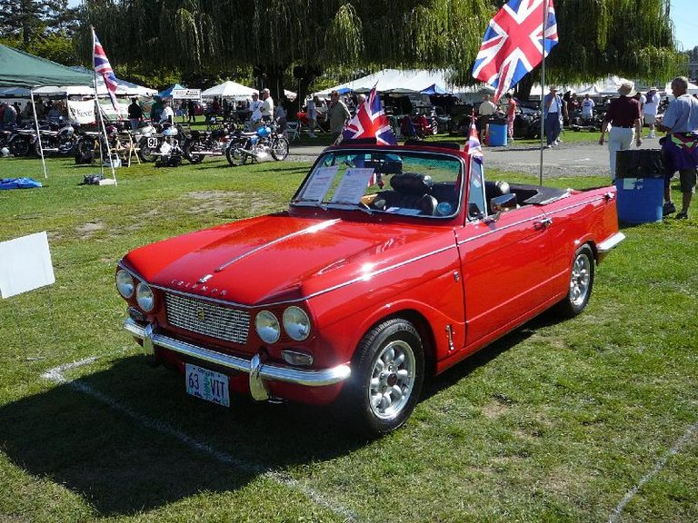 1963 - Triumph, Vitesse Mk.2 Convertible