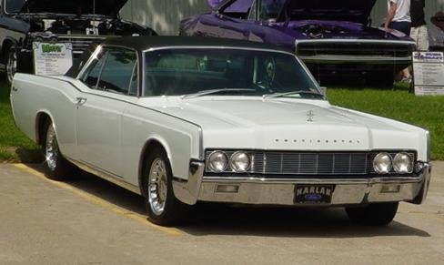 1967 - Lincoln, 2 Dr HT