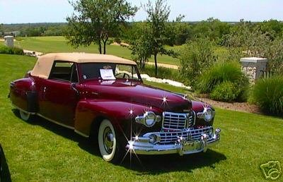 1948 - Lincoln, Continental Convertible
