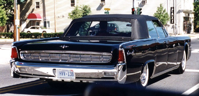 1963 - Lincoln, Continental Convertible