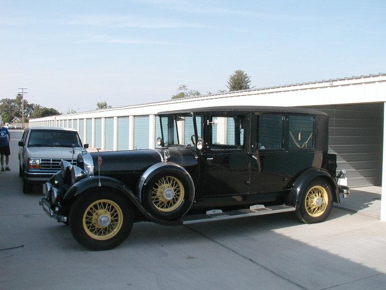 1930 - Lincoln, model L 7 psg.limo