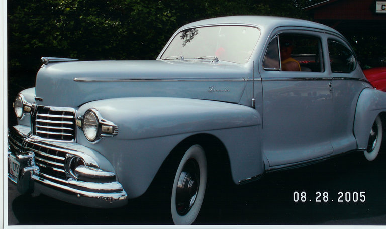 1947 - Lincoln, Club Coupe