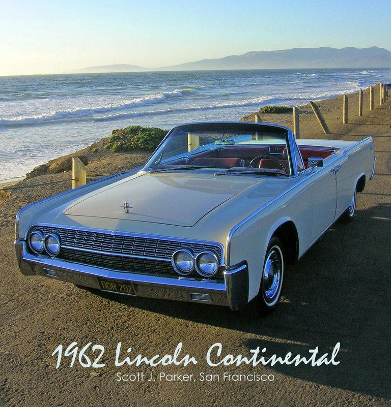 1962 - Lincoln, Continental Convertible Sedan