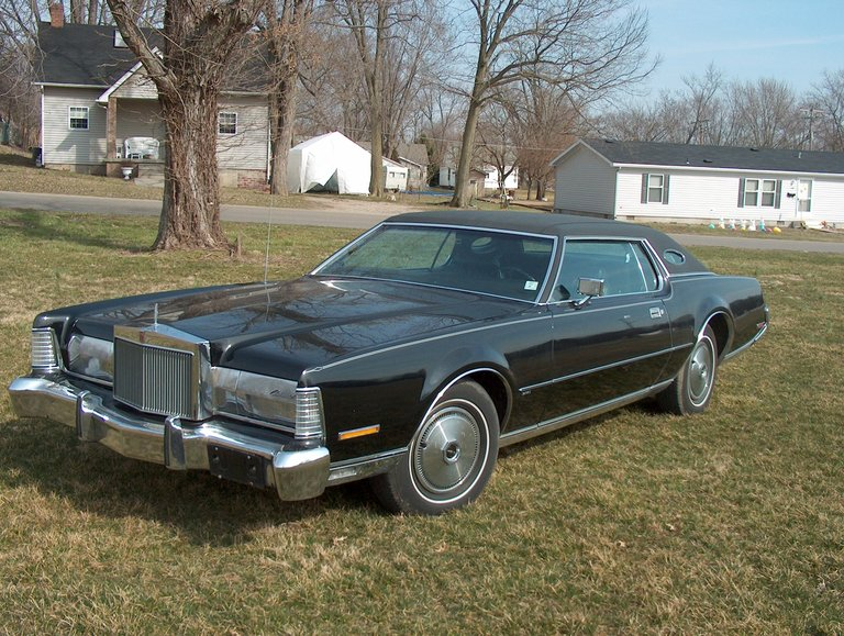 1973 - LINCOLN, MARK IV   GOLD LIMITED EDITION