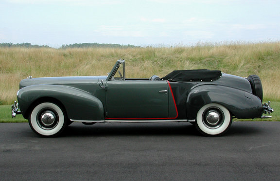 1940 - Lincoln, Continental Cabriolet