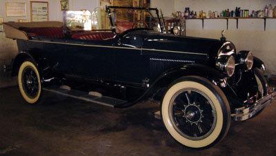 1923 - Lincoln convertible, tourer