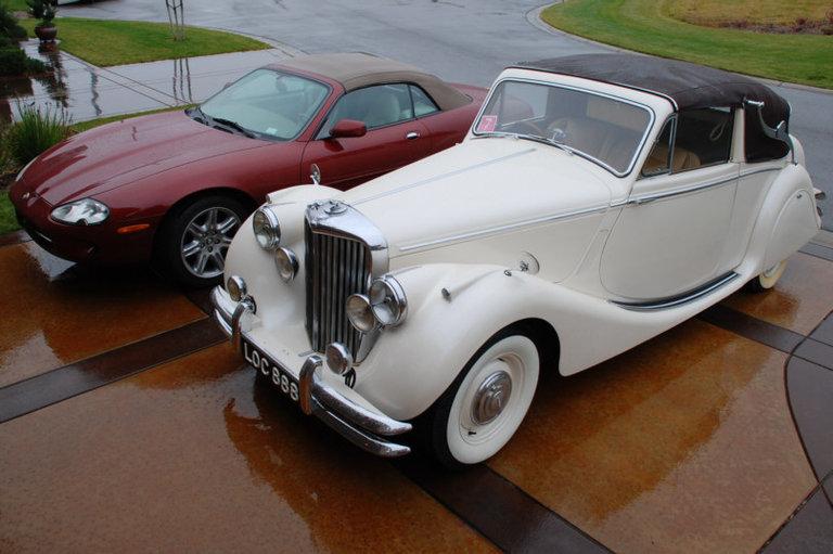 1951 - Jaguar, Mk.V Drophead Coupe