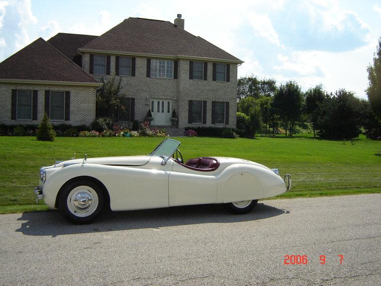 1951 - Jaguar, XK120