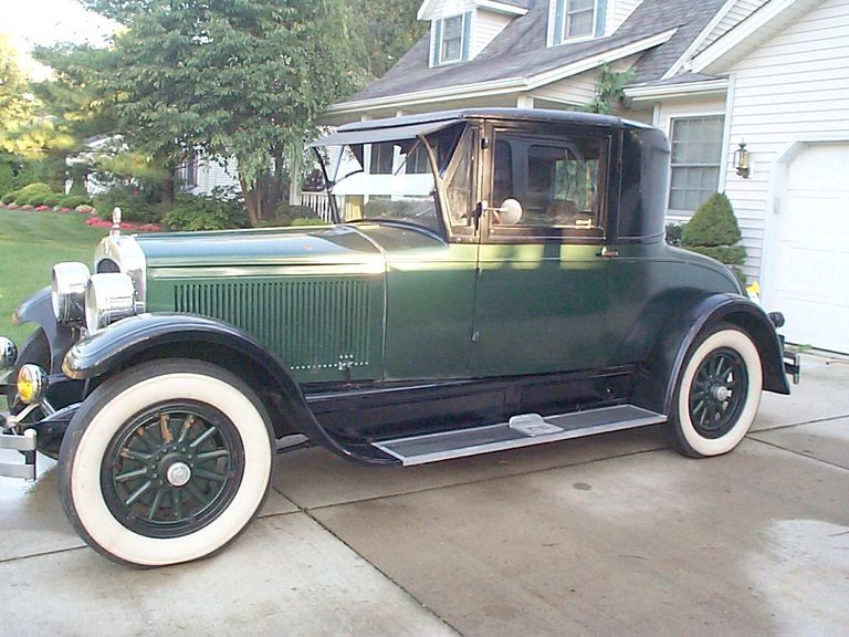 1925 - Jordan, Business Coupe