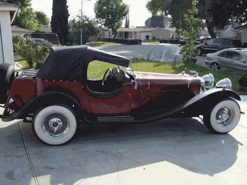 1937 - JAGUAR, SS100