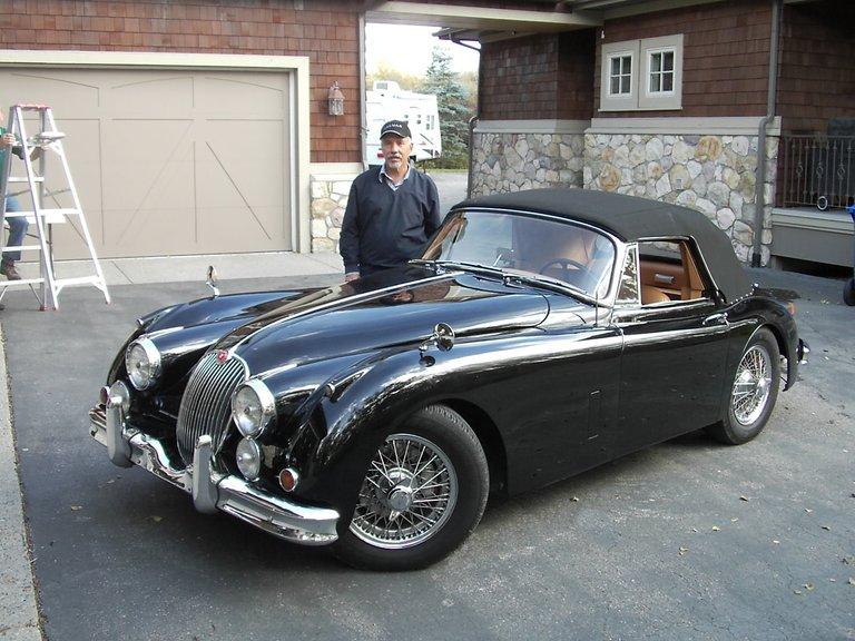 1960 - Jaguar, XK150 DHC