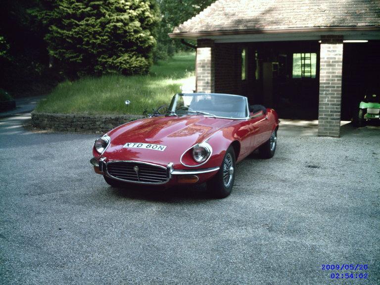 1974 - Jaguar, E-Type V12 SIII