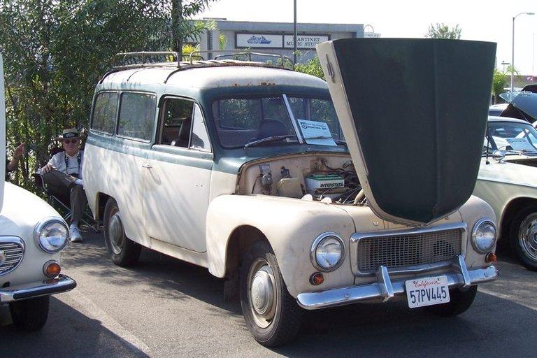 1957 - Volvo, PV445