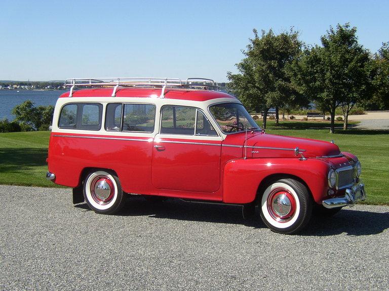 """1961 - Volvo, P210 """"Duett"""""""