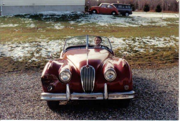 1957 - Jaguar, XK140 OTS