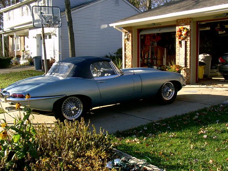 1967 - Jaguar, Series 1 E-Type roadster