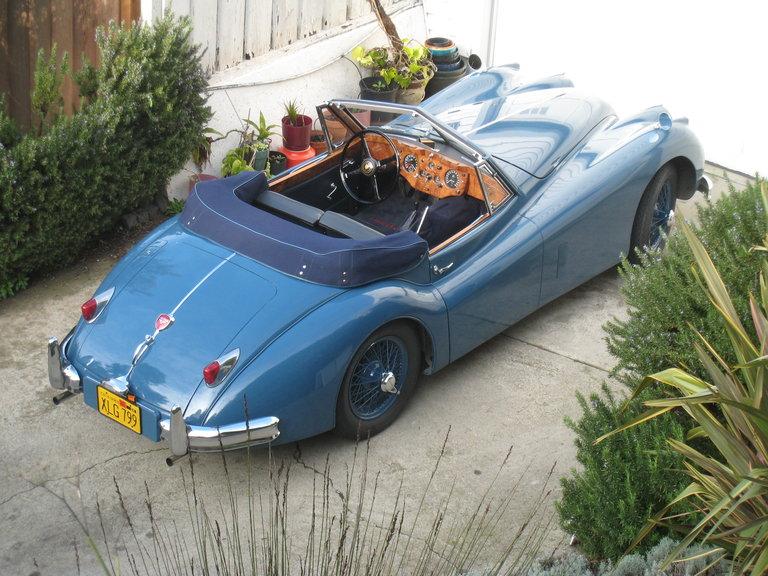 1955 - Jaguar, XK140 DHC