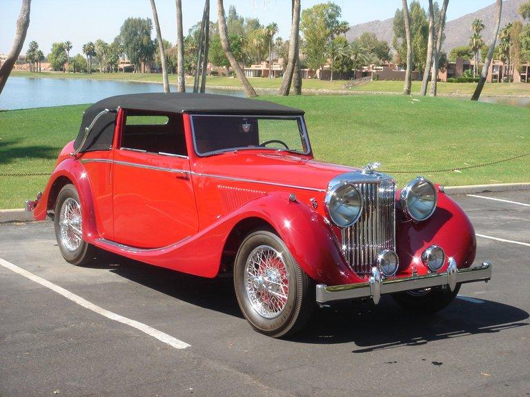 1948 - Jaguar, Mark IV 3 Position Drop Head Coupe