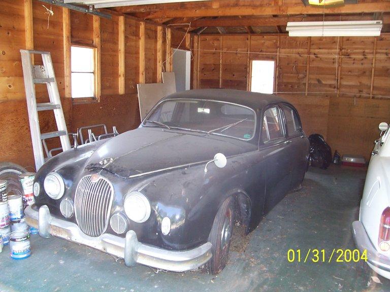 1958 - jaguar, mk-2 4door saloon