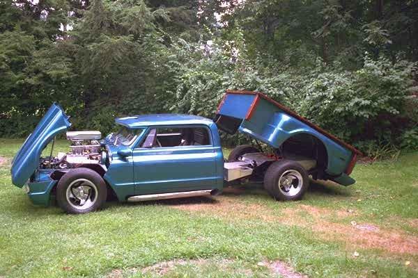 1968 - GMC, 1500 series 6 foot Bed Pickup 2wd