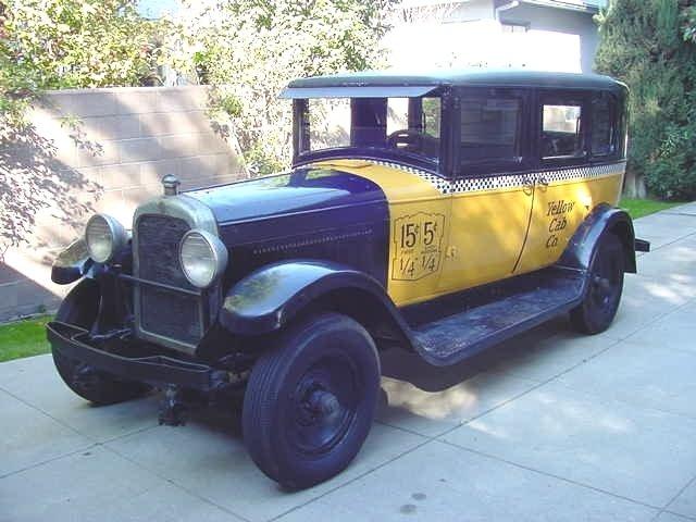 1930 - GMC, Yellow Coach (Taxi Cab)