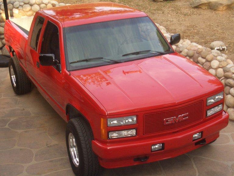 1992 - GMC, High Sierra SLE