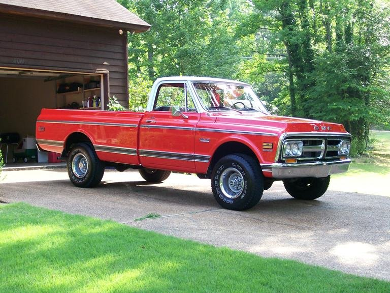 1971 - GMC, 1500 4x4
