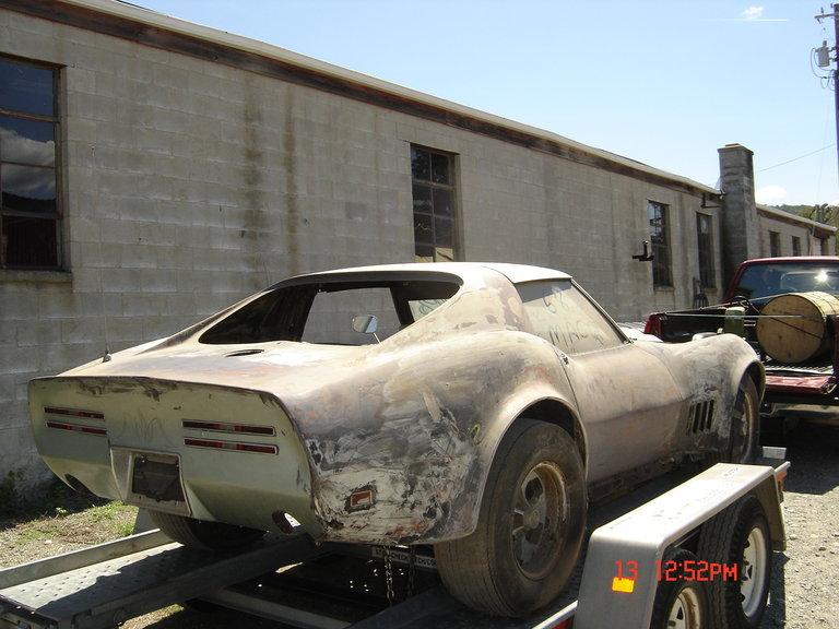 1968 - GM, 1968 Corvette Mako-Shark
