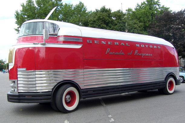 1950 - GMC, Futureliner