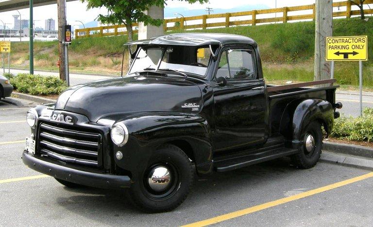 1952 - GMC, 9300 1/2 ton pickup