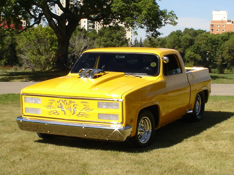 1986 - GMC, Pick up