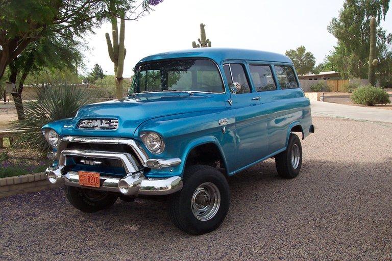 1956 - GMC, Carryall 4X4