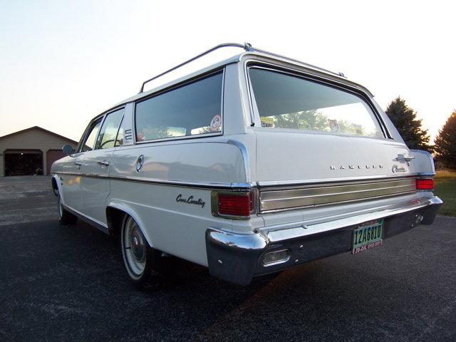 1965 - American Motors Corporation, Rambler Classic 770 Cross Country 5-door wagon