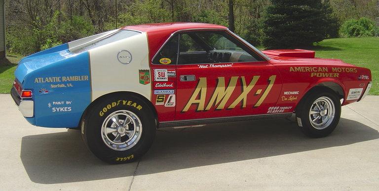 1969 - AMC, Hurst Super Stock Amx
